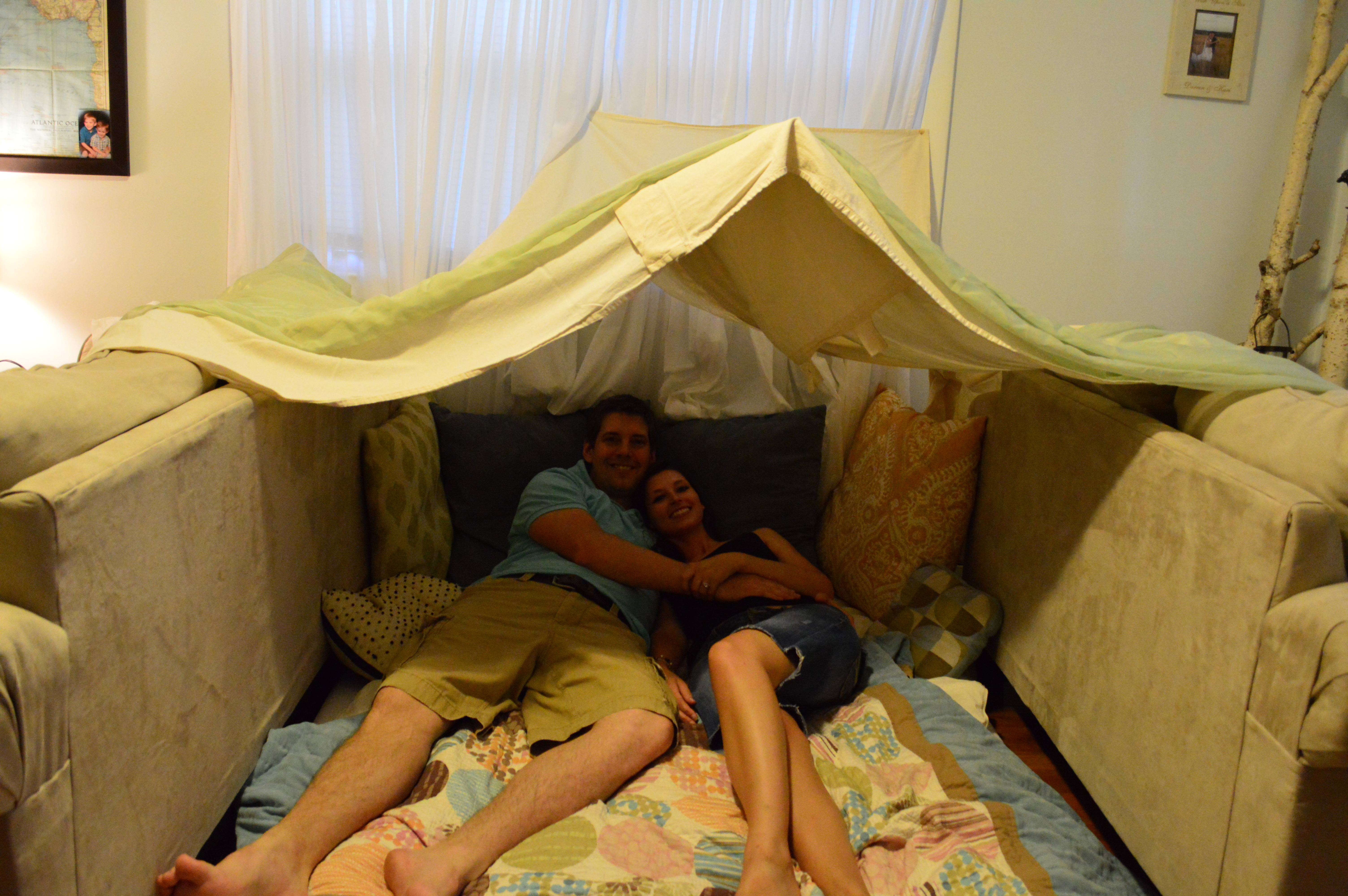 Lovely How To Make A Fort In The Living Room Part